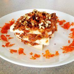 Raw Vegan Low Fat Carrot Cake #fruitarian #diet http://www.thinpedia.com/fruitarian-diet