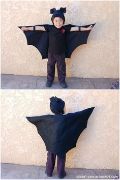 Sewing for Halloween: Bat Boy. | Desert Chic http://desert-chic.blogspot.nl/2012/10/sewing-for-halloween-bat-boy.html