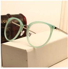 Decoração óculos de miopia de metal do Vintage homens mulheres unisex óculos óculos oculos de grau(China (Mainland))