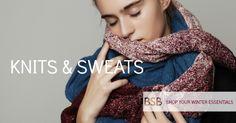 knits & sweats Shop online www.bsbfashion.com