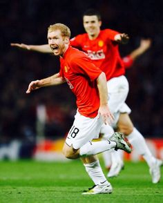 Legend: the mighty Paul Scholes