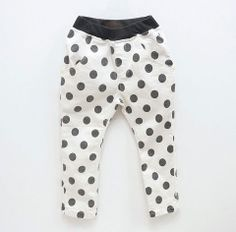 Large Dotted Pants  Color Me WHIMSY