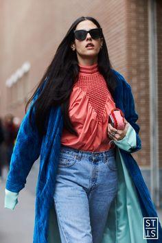 Style Stalker by Szymon Brzóska — (via Gilda Amprosio during Milan Fashion Week A/W...