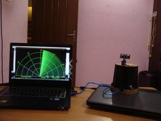This project is based on Arduino radar which is digitally visualized using Processing. Find this and other hardware projects on Hackster. Iot Projects, Robotics Projects, Diy Electronics, Electronics Projects, Processing Arduino, Arduino Radar, Projets Raspberry Pi, Arduino Programming, Linux