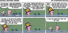 Pearls Before Swine: Two Birds With One Stone