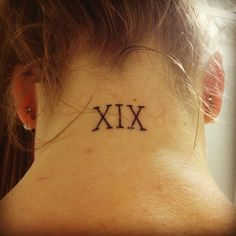 Roman numeral tattoos are a popular trend in the world of tattoos and body arts. Description from tattoosforyou.org. I searched for this on bing.com/images