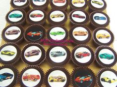 Muscle Car Cupcakes