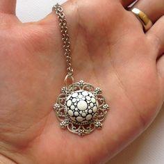 Pendelketten - Mandala Schmuck Anhänger Muttertag Geschenk - ein Designerstück von CreateAndCherish bei DaWanda