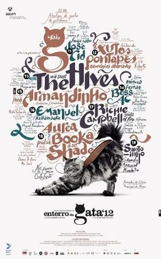 I just love this poster even though the cat is supposed to look like a shoe :D