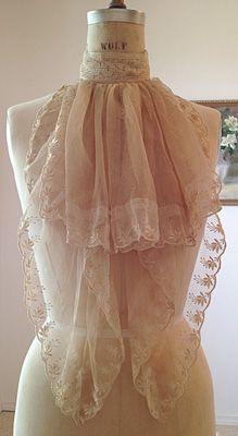 Dress Form Vintage Dressing Scarf
