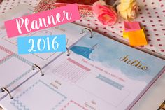 Planner 2016 para Download ♥
