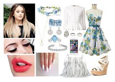 """""""Untitled #032"""" by theycallmekaye ❤ liked on Polyvore featuring Alexander McQueen, Maybelline, Charlotte Tilbury, JustFab, Topshop, Accessorize, Ice and Allurez"""