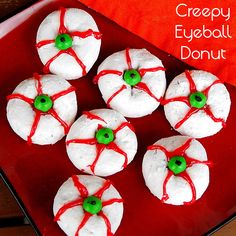 Creepy Eyeball Donut - Halloween treat