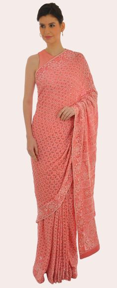 Saress strandkleid pink bloom