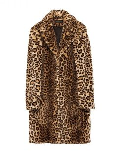Leopard Faux Fur Coat from Zara.