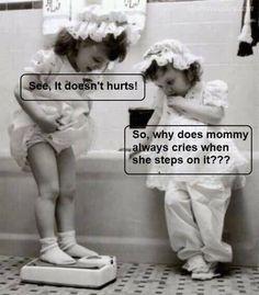 Why does mommy always cry when she steps on it? ;)