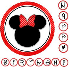 free minnie mouse birthday printables | ... mouse sunkissedamy minnie mouse st birthday theme cachedanother how to