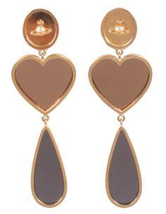 earrings by Vivienne Westwood