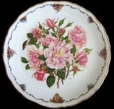 Royal Albert - The Queen Mother's Favourite Roses - Collector Plates - Albertine