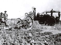 Fowler Steam Tractor, 1891