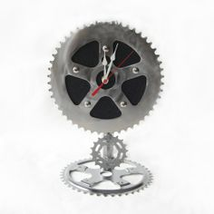 Recycled Bike Chain Pendulum Clock | Greenheart Eco Gifts