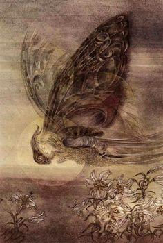 """""""Nuestro desarrollo es como el de una mariposa. Como ella, debemos morir para renacer: el huevo muere y se convierte en la oruga, la oruga muere y se convierte en crisálida, la crisálida muere y entonces nace una mariposa. Es un proceso largo y la mariposa sólo vive un día o dos. Pero el propósito cósmico se cumple.""""  Gurdjieff"""