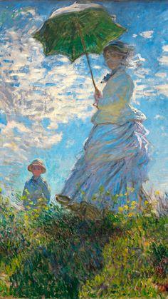 Monet Paintings, Great Paintings, Beautiful Paintings, Landscape Paintings, Painting Wallpaper, Monet Wallpaper, Impressionist Art, Famous Impressionist Paintings, Van Gogh Art