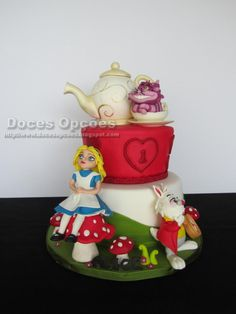 Alice in Wonderland - Cake by DocesOpcoes