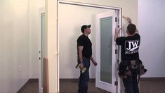 How-To Install a French Door - YouTube