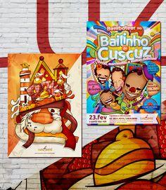 Cartazes Domingo Cultural da Cuscuzeria Café: Festividades de Fim de Ano // Bailinho do Cuscuz.