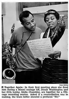 Singer Dinah Washington and Her Fifth Husband Eddie Chamblee - Jet Magazine, November 1958 Jet Magazine, Black Magazine, A Love Supreme, Miss D, Women In Music, Gone Girl, Stand Up Comedians, Black Celebrities, Jazz Blues