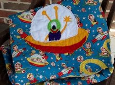"""Baby Quilt Pattern """"Outer Space"""" 