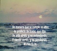 Mateo 13:14