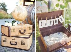 Ob Garten-, Scheunen oder Vintage-Hochzeit -> Diese Dekoideen sind themen-übergreifend und lassen sich vielseitig einsetzen!