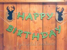 Hunting Birthday party Hunting party Hunting by KpDigitalCreations