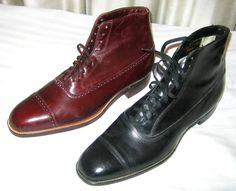 Men's oxford boots, c. Mens Boots Fashion, Sneakers Fashion, Dandy, 1920s Mens Shoes, Valentino, Oxford Boots, La Mode Masculine, Dress With Boots, Men's Shoes
