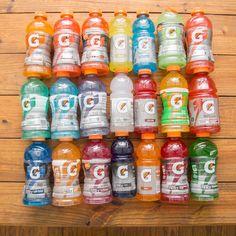 Every Flavor of Gatorade, Ranked