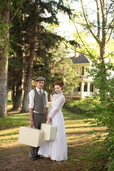 Anne of Green Gables Wedding Inspiration. :) mom would love this :)