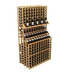 Commercial Triple Tier 300 - Width 45 1/16 inches, Height 83 9/16 inches, Depth 25 inches, Bottles 300, Columns 10, Rows 18. http://www.winecellarspec.com/wine-racks/. Wine Cellar Specialists  4421 Cedar Elm Circle Richardson, TX 75082  Toll Free: 866-646-7089  Texas Office: 972-454-0480  Illinois Office: 773-234-0112