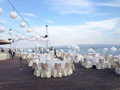 Wedding Venues in Croatia, Wedding planner & Venues listings. Wedding Planner, Destination Wedding, Wedding Venues, Beach Resorts, Croatia, Table Decorations, Blue, Wedding, Wedding Planer