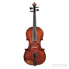 French Violin, Jacques Pierre Thibout, Paris, 1827. | Auction 2955B | Lot 288 |