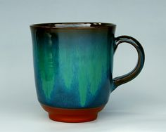My favorite Mumyoi glaze.  From Sado island.  And only about 40 dollars for a mug!