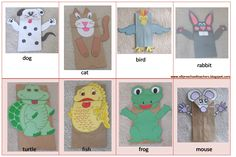 preschool paper crafts | ESL/EFL Preschool Teachers: Pets