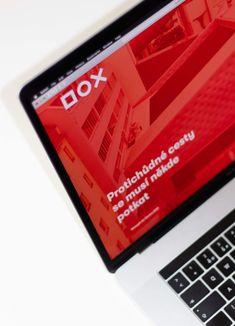 Úvodní stránka | Studio Najbrt Adobe Xd, Communication Design, Visual Identity, Web Development, Contemporary Art, Display, Website, Behance, Design Inspiration