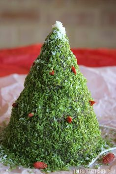 christmas tree chocolate cake
