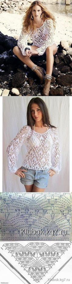 Delicate blouse   Clew