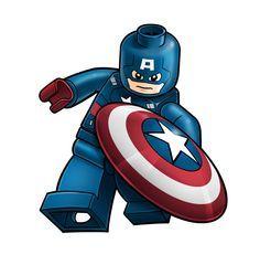 lego captain america cartoon   avengers lego captain america by robking21 cartoons comics digital ...