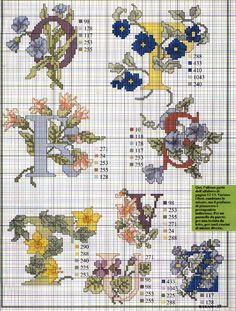 Flowers Abc (3/3)