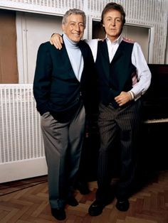 Tony Bennett, Great American Songbook, Paul And Linda Mccartney, Les Beatles, Sir Paul, Jazz Artists, All About Music, The Fab Four, Important People