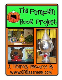 Clutter-Free Classroom: PUMPKIN BOOK PROJECTS & HAUNTED HOUSE WRITING